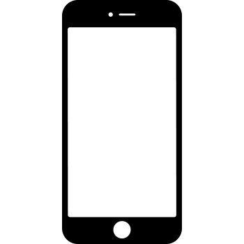 Iphone PNG Black And White - 52181
