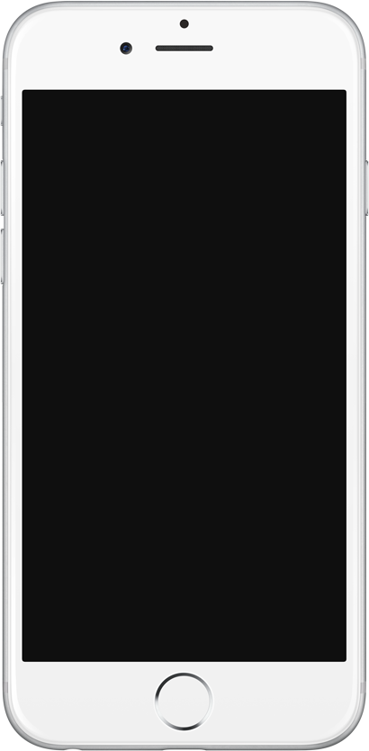 File:IPhone6 silver frontface.png - Iphone PNG Black And White
