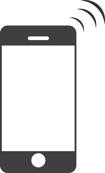 iphone clipart - Iphone PNG Black And White