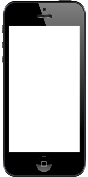 Iphone, Cell Phone, Apple, Phone, Mobile - Iphone PNG Black And White