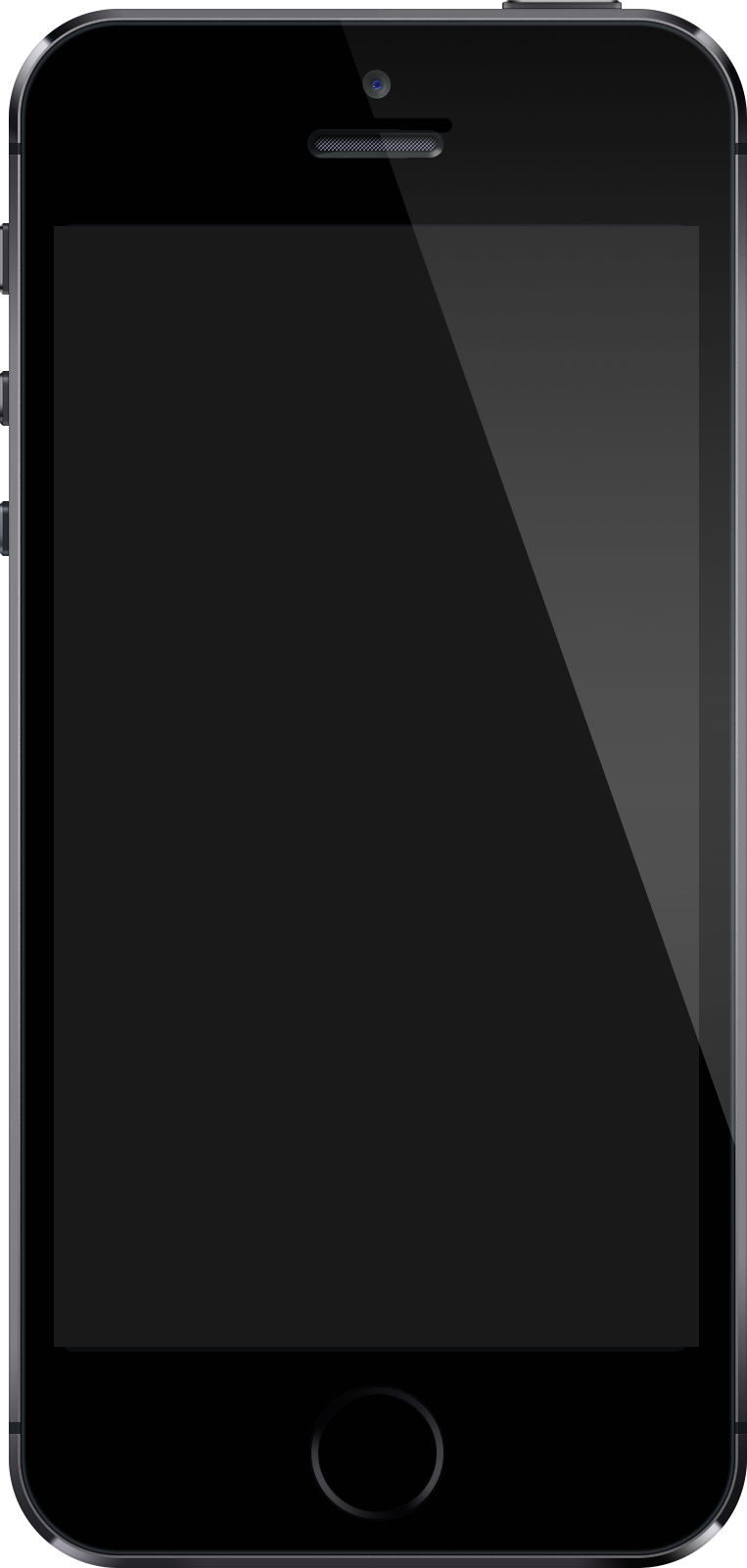 Iphone PNG Black And White - 52185