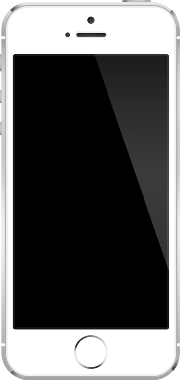 File:IPhone SE in silver.png - Iphone PNG Png