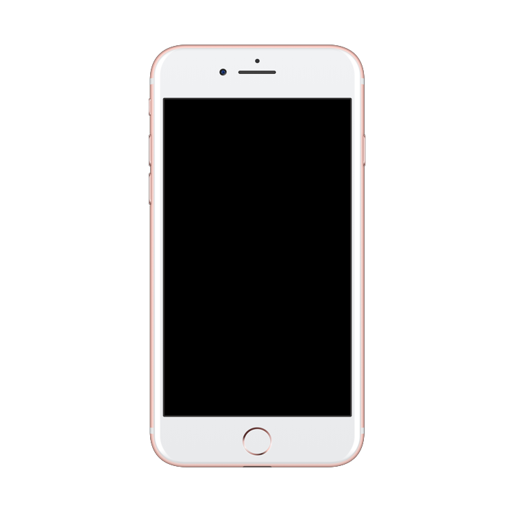 Iphone 7 Plus Mockup PlusPng.com  - Iphone PNG Png