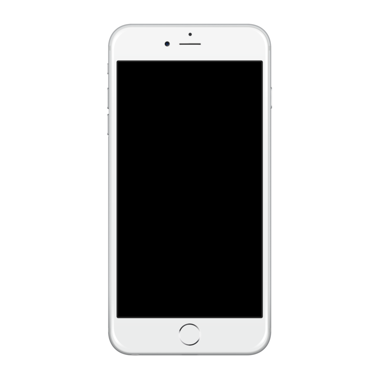 White Iphone 6 Png Image Image #34196 - Iphone PNG