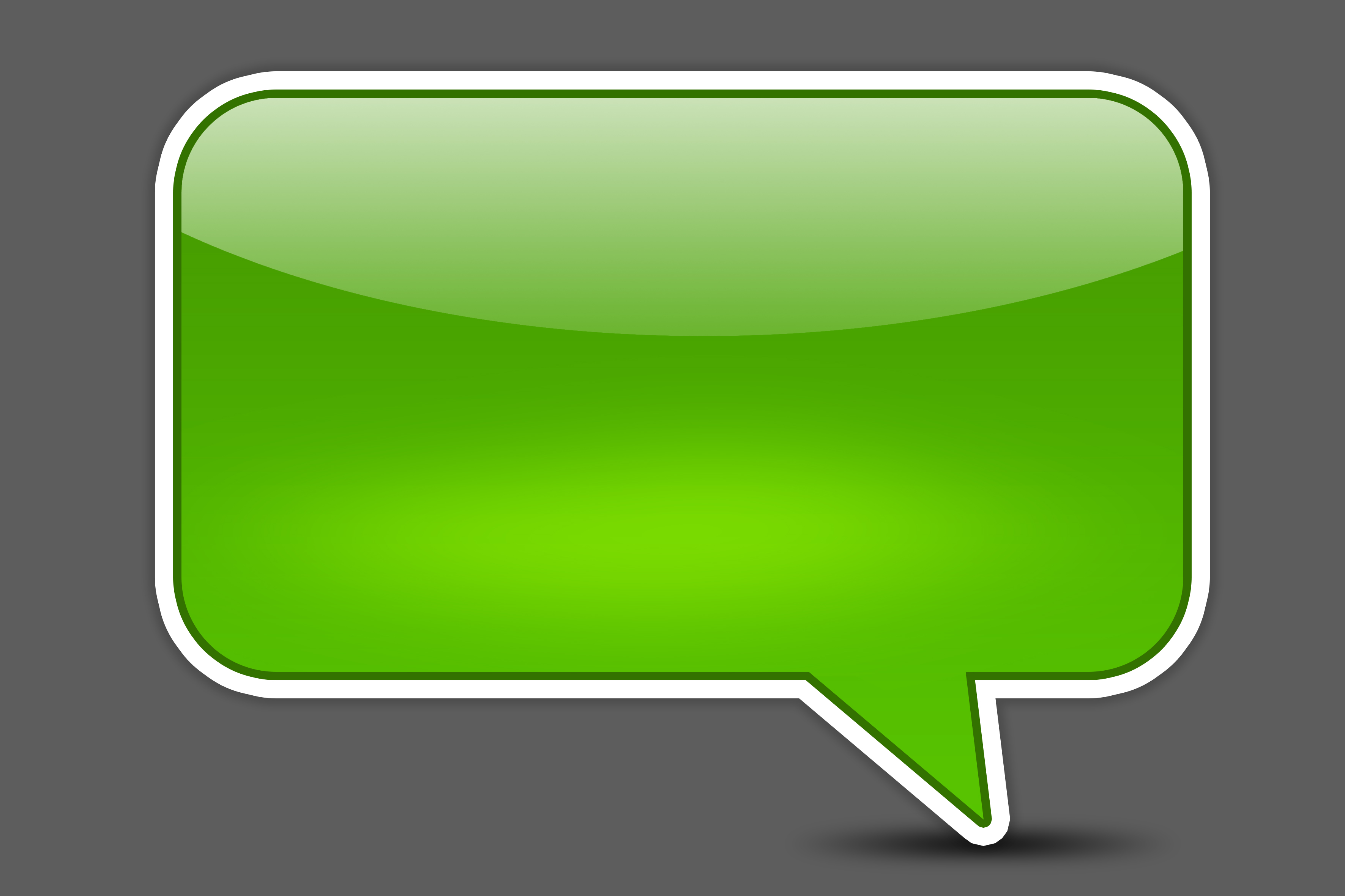 Iphone Text Bubble Clipart - Iphone Text Bubble PNG
