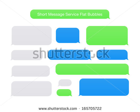Iphone Text Bubble PNG