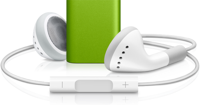 Ipod And Headphones PNG - 52241