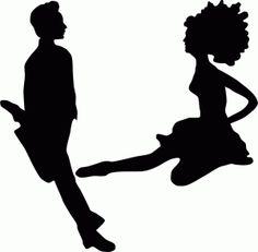 Irish Dancer Silhouette Clip Art 05 - Irish Dancer PNG