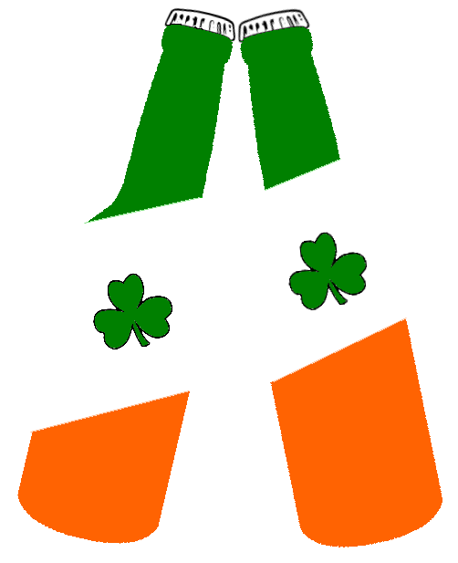 beer bottles irish flag -  /holiday/Saint_Patricks_Day/beer_bottles_irish_flag.png.html - Irish PNG
