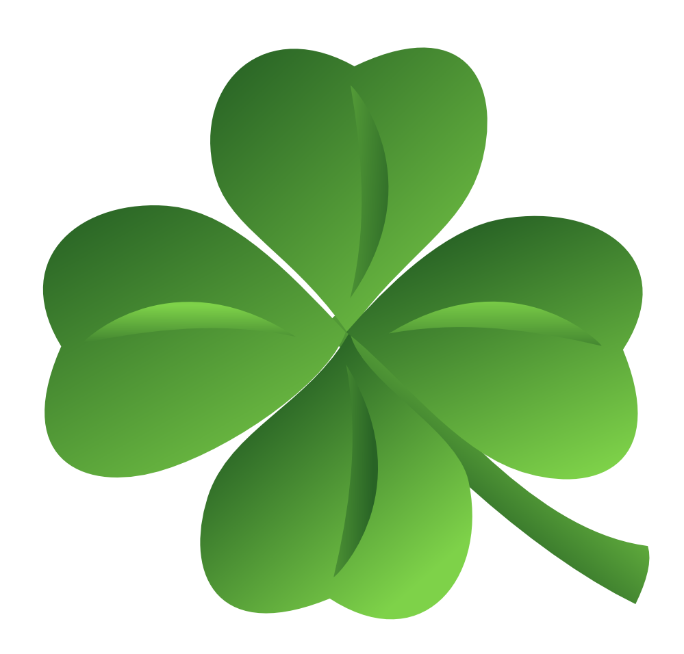 . PlusPng.com Clover Ns Saint Patricks Day Ireland Irish 999px.png 159(K) - Irish PNG