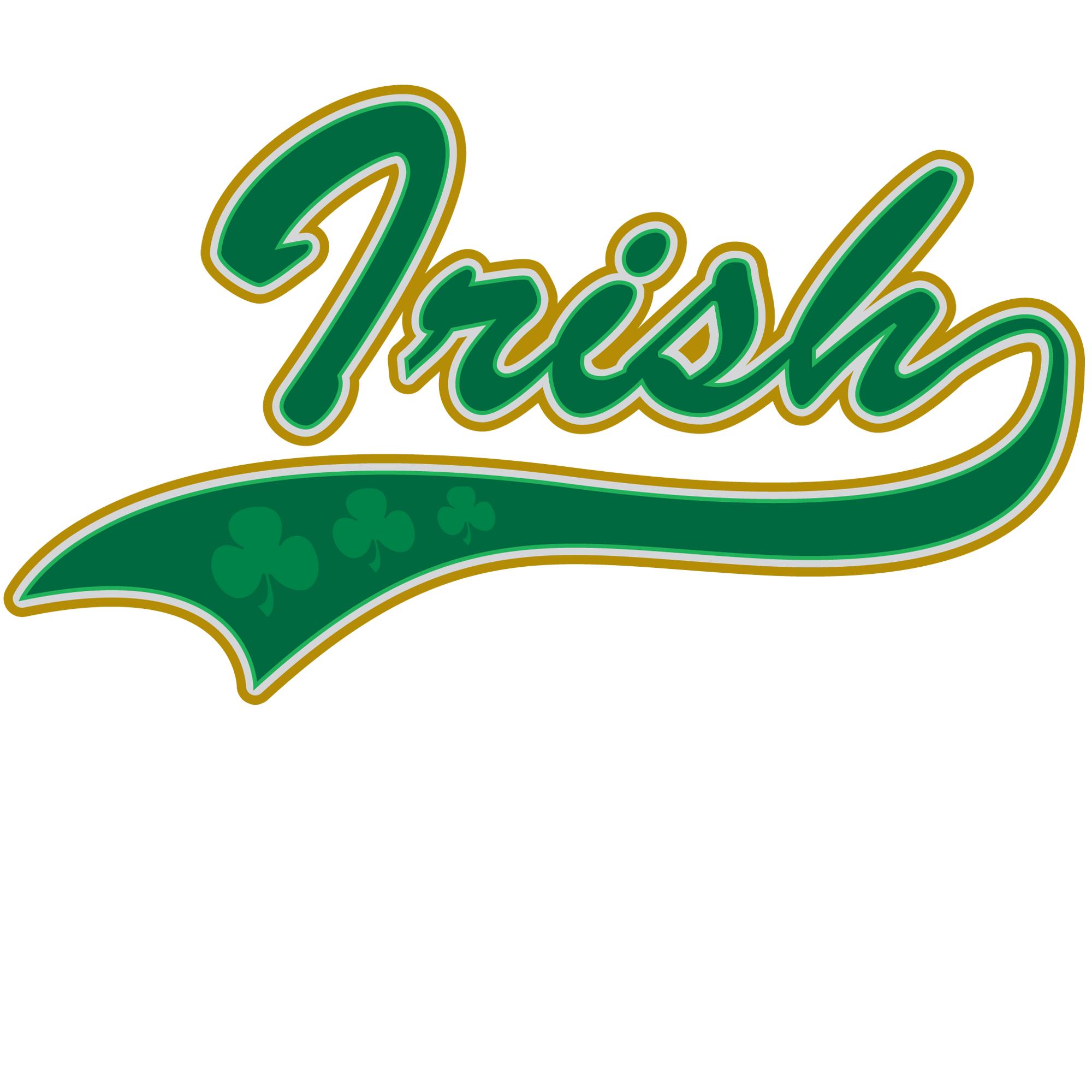 IrishBaseballDkwht.png PlusPng.com  - Irish PNG