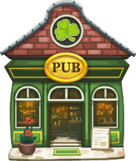 File:StPatricks Business Irish Pub Level 1.png - Irish Pub PNG