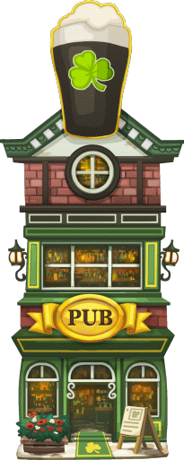 StPatricks Business Irish Pub Level 3.png - Irish Pub PNG