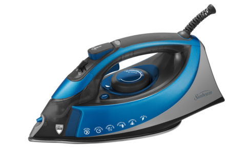 Press the finest details to perfection with the Sunbeam TURBO Steam Iron.  Maximum power and maximum steam output creates effortless performance and  superior PlusPng.com  - Iron HD PNG