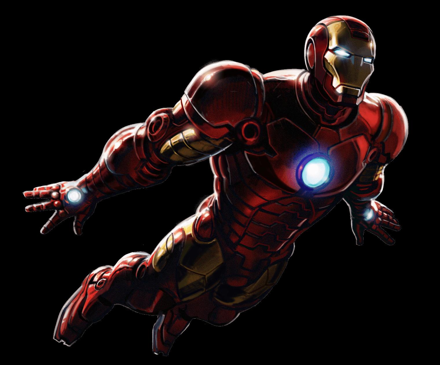 Iron Man Flying Up - Iron Man PNG HD