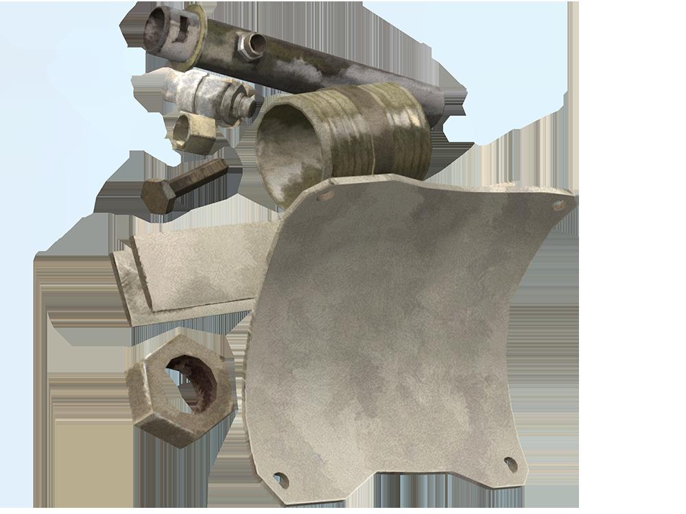 Iron Metal PNG - 52126