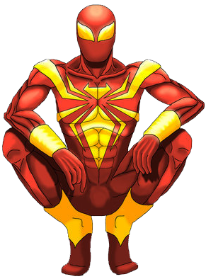 Clipart Info - Iron Spiderman PNG