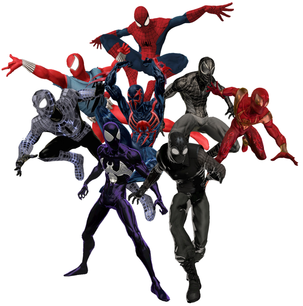 Iron Spiderman PNG - 26908