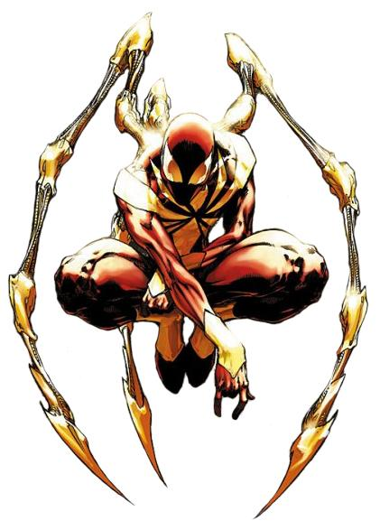 Iron Spider Suit - Iron Spiderman PNG