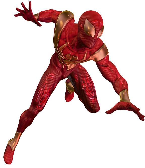 Iron Spiderman PNG - 26894