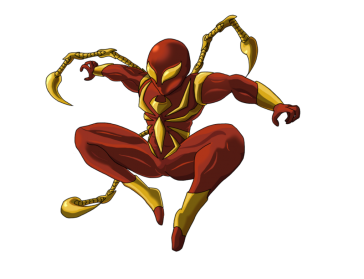 Iron Spiderman PNG - 26906