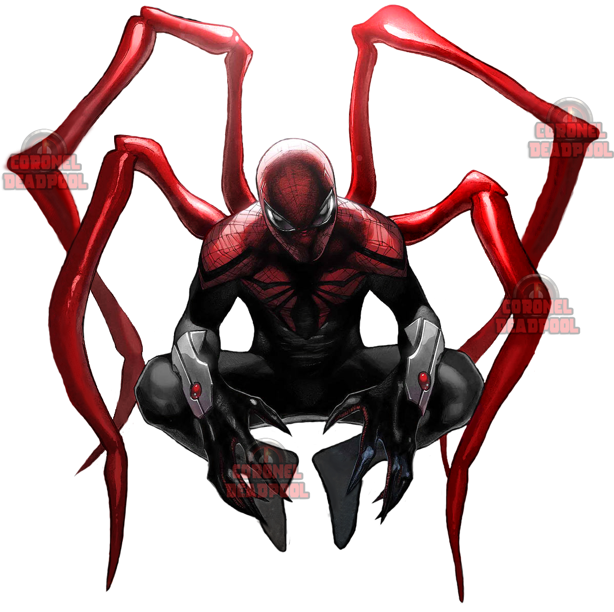Iron Spiderman PNG Transparent Picture - Iron Spiderman PNG