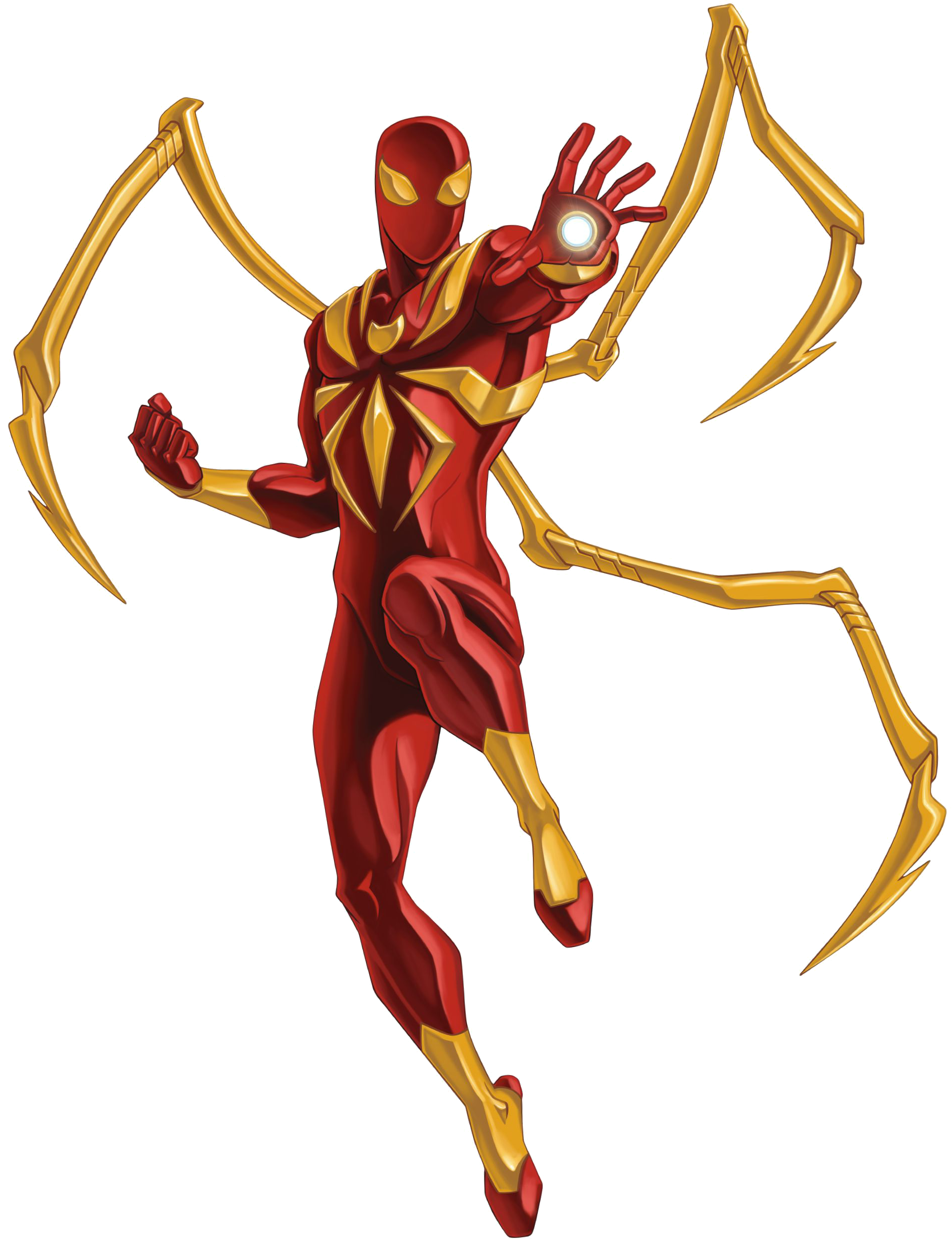 Iron Spiderman Transparent PNG - Iron Spiderman PNG