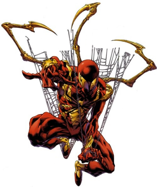 Iron Spiderman PNG - 26897