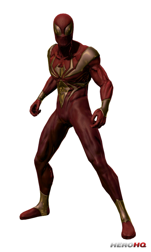 IronSpider 2 500.png - Iron Spiderman PNG