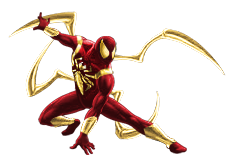 Spider-Man-Iron Spider.png - Iron Spiderman PNG