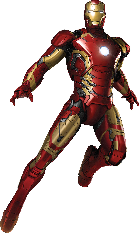 Iron Man PNG - 48