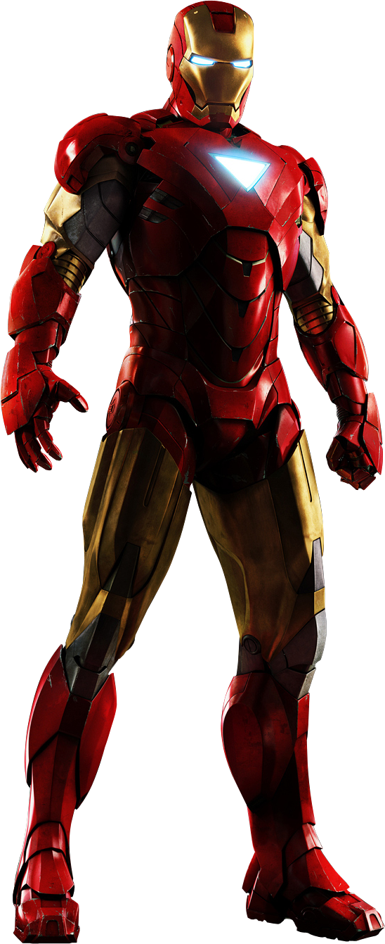 Iron-Man-Cropped.png - Ironman HD PNG