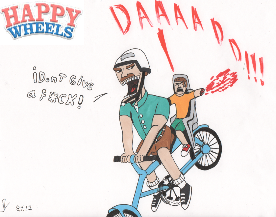 The Irresponsible dad (Happy wheels) by Valtheknight PlusPng.com  - Irresponsible PNG