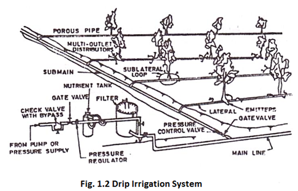 Drip Irrigation System - Irrigation PNG Black And White