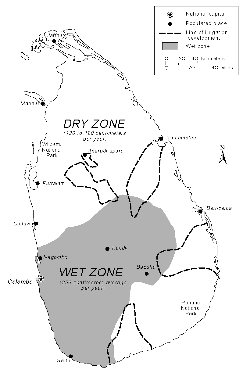 File:Sri Lanka Precipitation and Irrigation map.png - Irrigation PNG Black And White