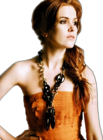 Isla Fisher 4 by HappyMuskratPNGs PlusPng.com  - Isla Fisher PNG