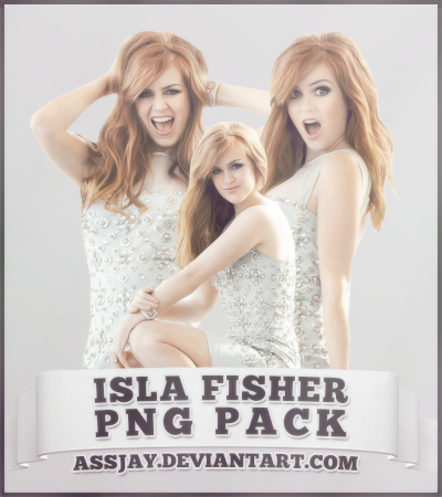 ISLA FISHER PNG PACK | ASSJAY by assjay PlusPng.com  - Isla Fisher PNG