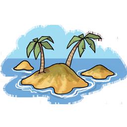 Island PNG - 1633