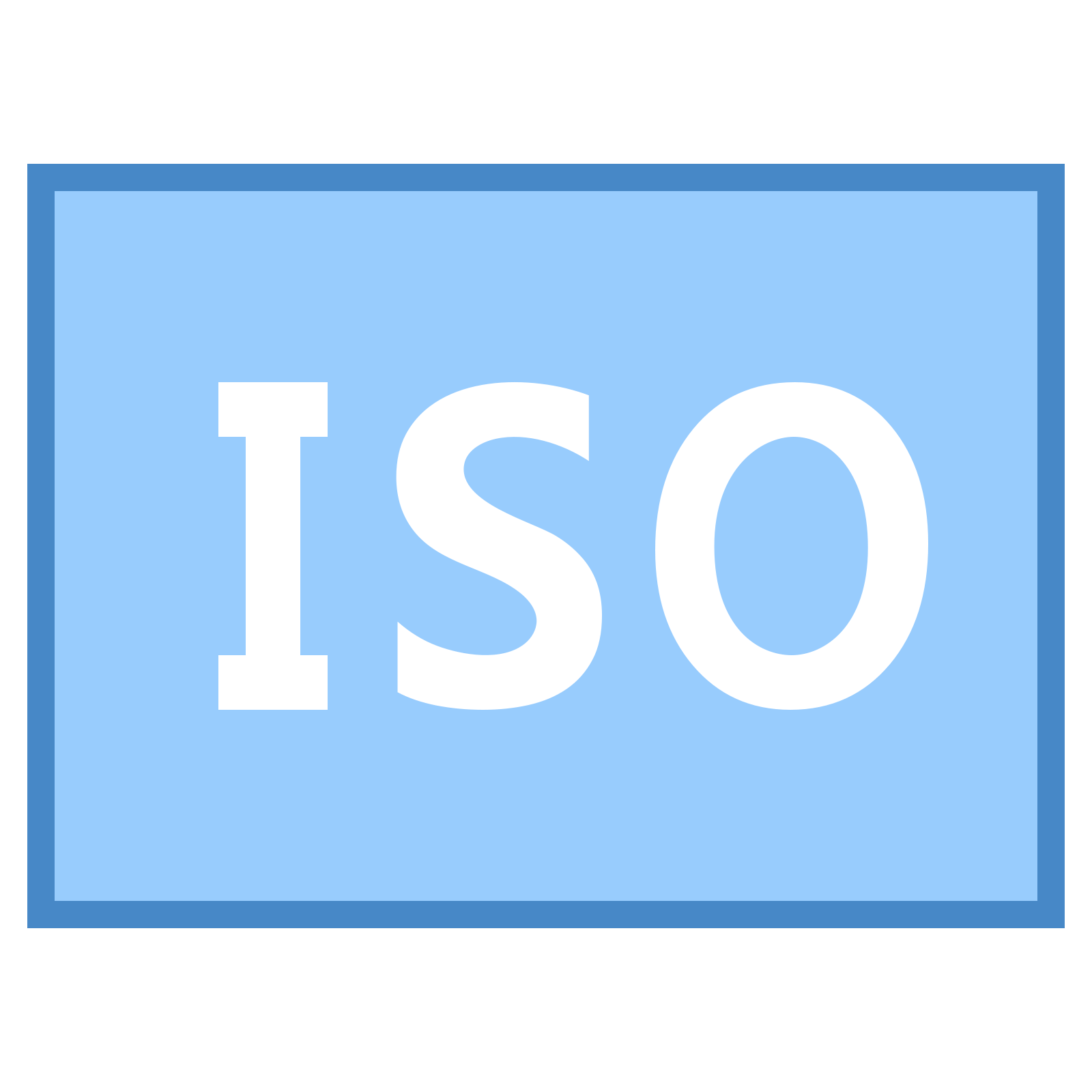 ISO Icon - Iso PNG