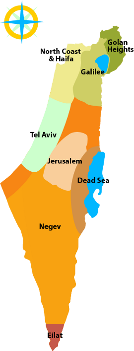 Book Your Bed - Israel Map PNG