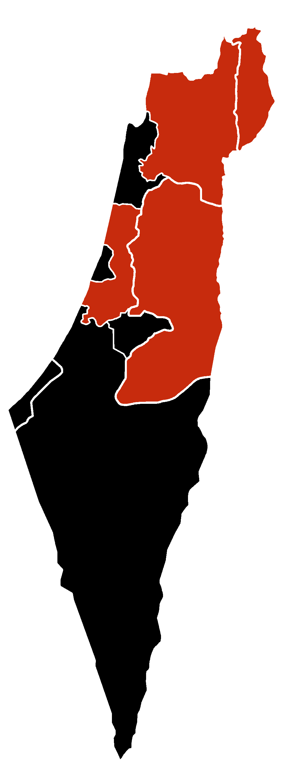 File:H1N1 Israel Map.png - Israel Map PNG