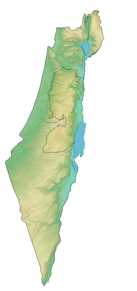 File:Israel Wikivoyage map.png - Israel Map PNG