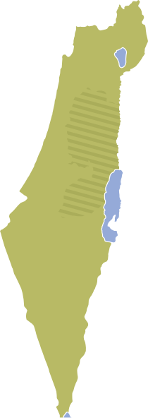 PNG: small · medium · large - Israel Map PNG