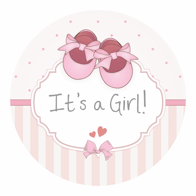 Its A Girl PNG - 70105