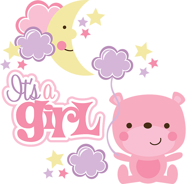 Itu0027s A Girl SVG scrapbook collection baby girl svg files for scrapbooking  cardmaking cute svg cuts - Its A Girl PNG