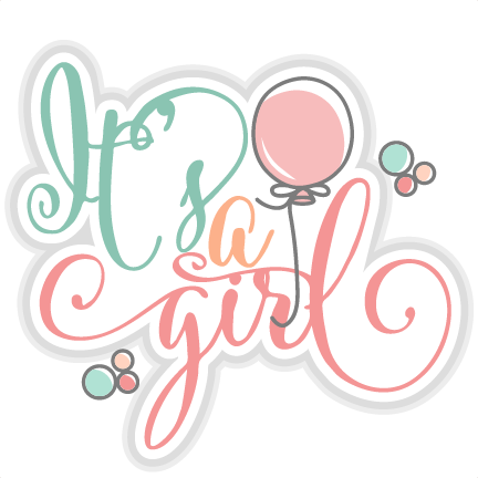 Its A Girl PNG - 70109