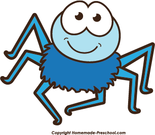 pin Colorful clipart spider #10 - Itsy Bitsy Spider PNG