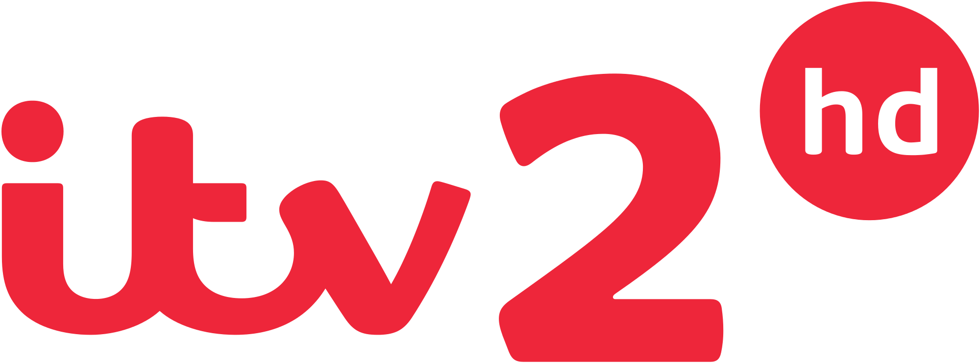 ITV2 HD logo 2013 svg.png - Itv2 Hd PNG