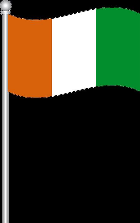 Flag Of Ivory Coast, Flag, Ivory Coast, World Flags - Ivory Coast PNG