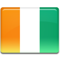 Ivory Coast Flag Png Hd PNG Image - Ivory Coast PNG